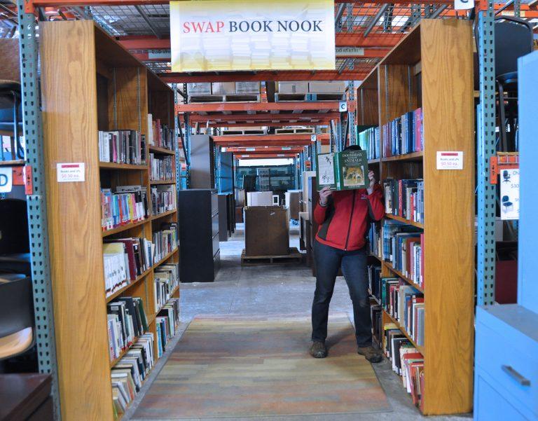 SWAP book nook